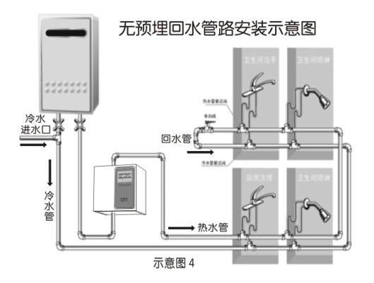 空气能中央热水系统示意图3