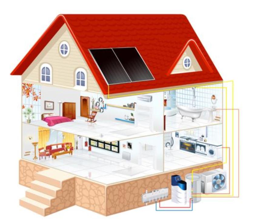 家用中央室外燃气热水器安装注意事项